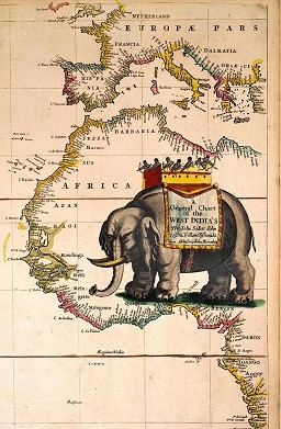 Seller's Sea Atlas, 1678. Image copyright © Ian Jones