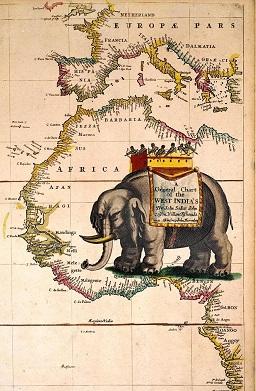 Seller's Sea Atlas, 1678. Image copyright © Ian Jones