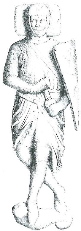William Marhsall's effigy. From a drawing by Charles Stothard, 1811. Image copyright © Professor Sir John Baker