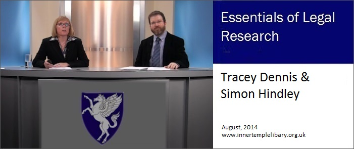 Legal Research Video