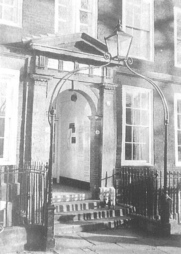 No. 4, King's Bench Walk Image copyright © Professor Sir John Baker