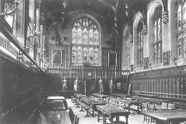 Smirke's Hall, looking west, c.1900. Image copyright © Professor Sir John Baker