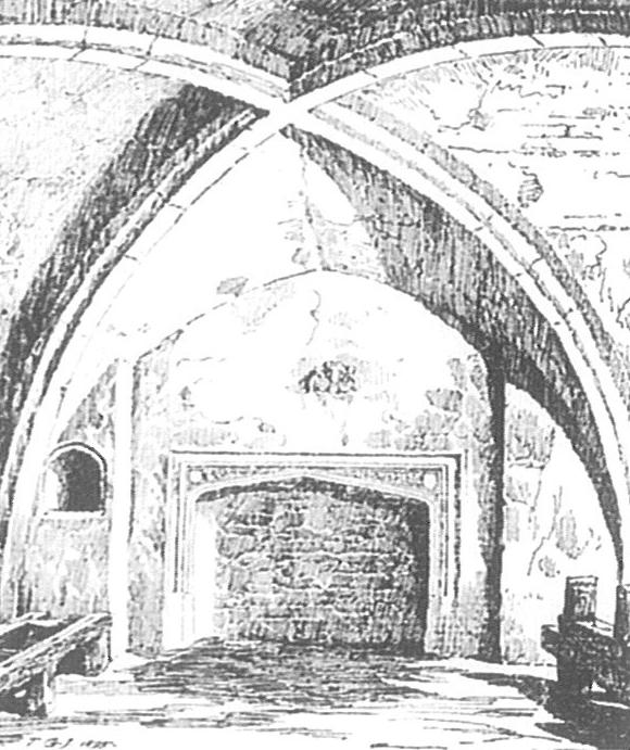 The crypt beneath the medieval buttery. Image copyright © The Inner Temple