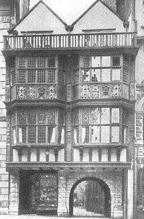 The gateway, c. 1905. Image copyright © Professor Sir John Baker