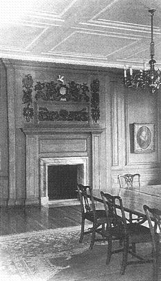 The Parliament Chamber, at the present day. Image copyright © Professor Sir John Baker