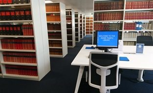Temporary Library Opens